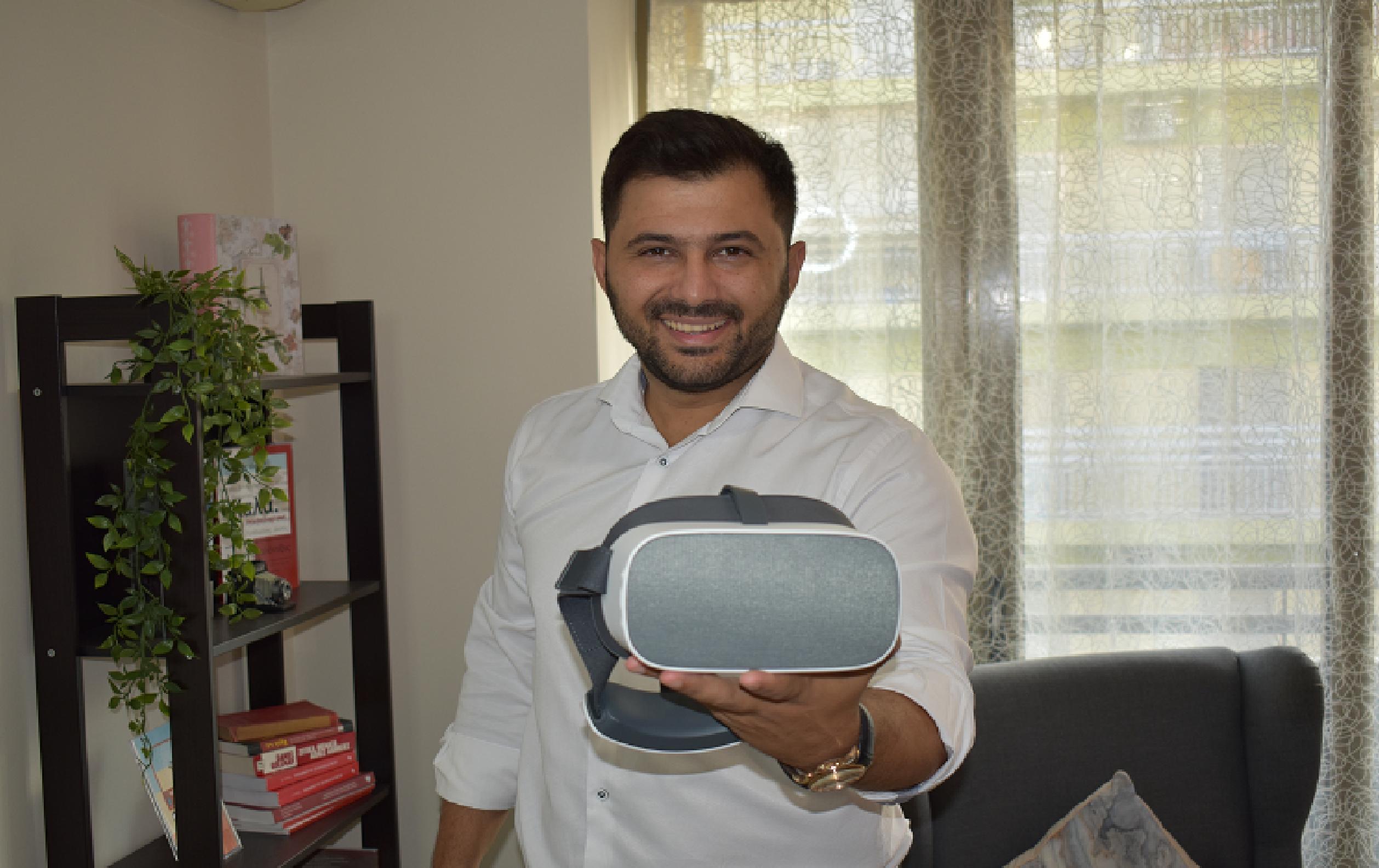 Χρήση τεχνολογίας VR στο γραφείο μας
